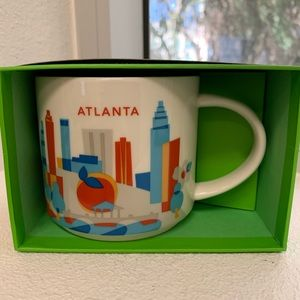 Starbucks Atlanta You are Here Coffee Mug